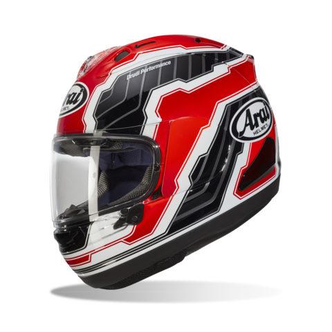 ARAI RX-7V MAMOLA EDGE RED kask motocyklowy