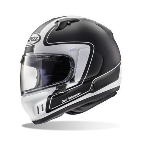 ARAI RENEGADE-V OUTLINE FROST BLACK kask motocyklowy