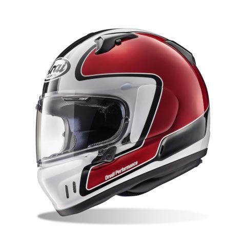 ARAI RENEGADE-V OUTLINE RED kask motocyklowy