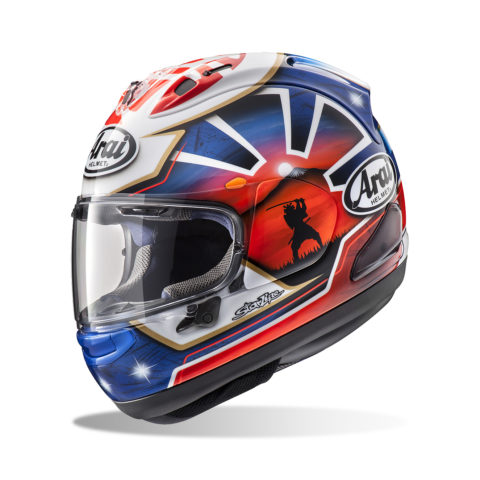 ARAI RX-7V PEDROSA SPIRIT BLUE kask motocyklowy