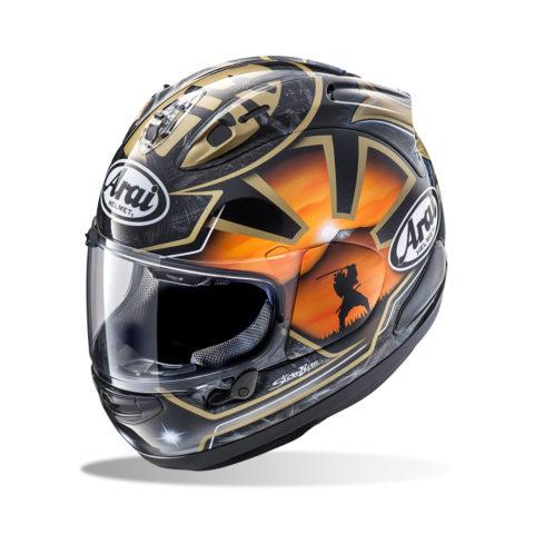 ARAI RX-7V PEDROSA SPIRIT GOLD kask motocyklowy