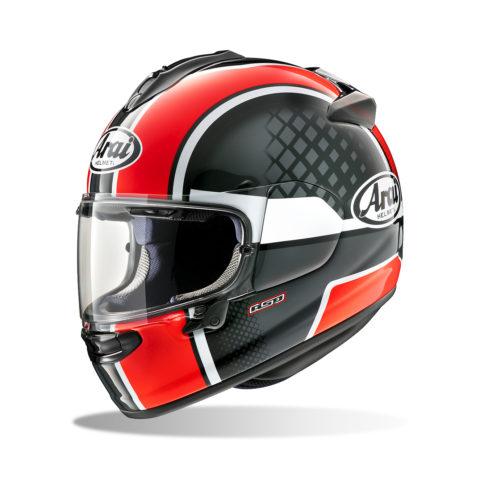 ARAI CHASER-X TAKE-OFF RED kask motocyklowy
