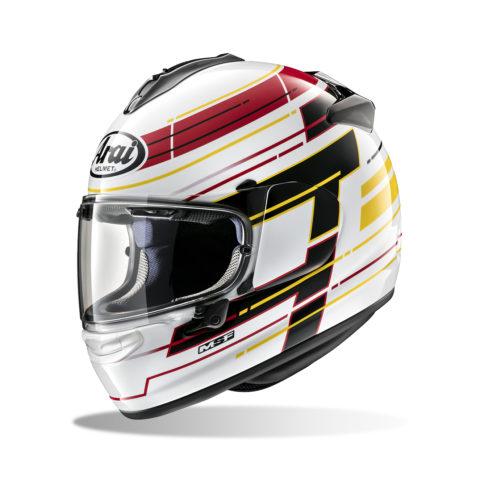 ARAI CHASER-X STRIKER WHITE kask motocyklowy