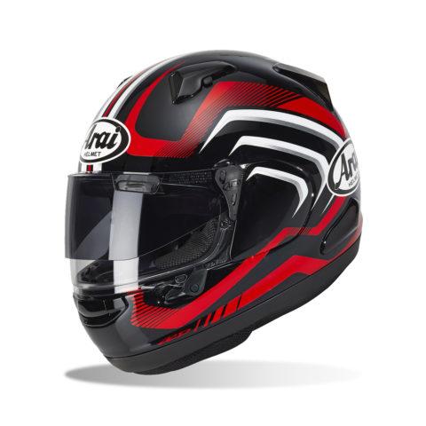 ARAI QV CARVE RED kask motocyklowy