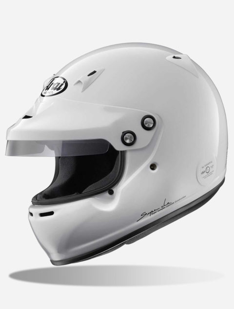 ARAI GP-5W WHITE kask samochodowy